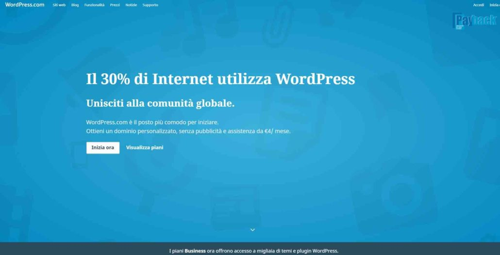 blog con wordpress