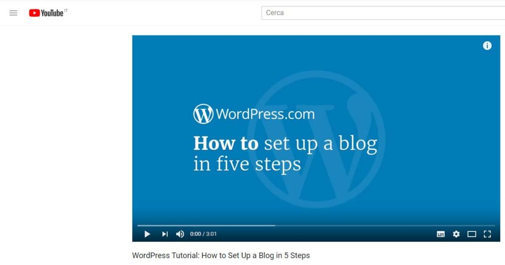 come creare un blog con wordpress