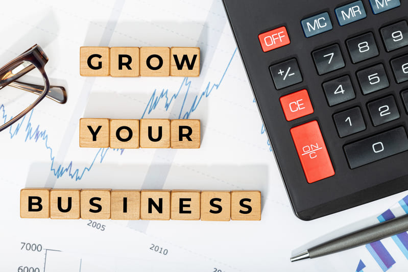grow your business concept 1