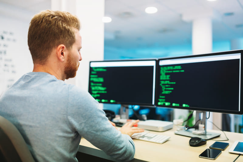 programmatore sito web