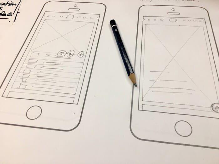 design app mobile