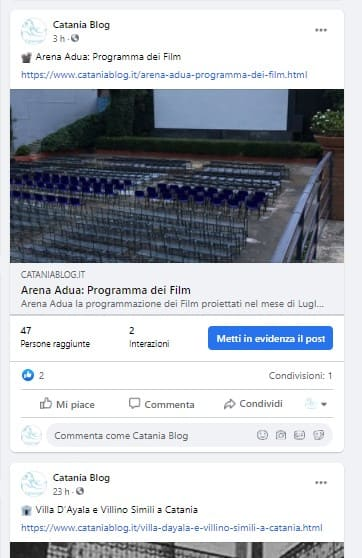 piano editoriale social facebook
