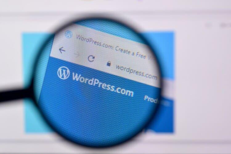 homepage of wordpress website wordpress 1 1